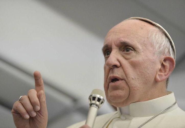 El Papa sigue  las noticias que llegan de Egipto. (Archivo/EFE)