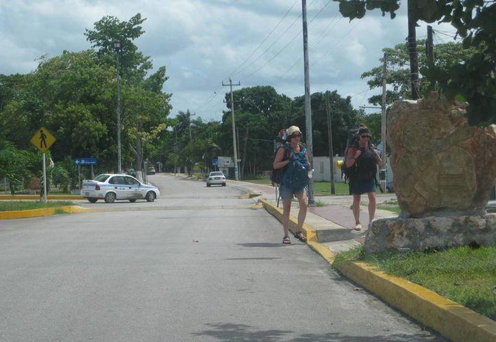 Se ofrecen recorridos a los turistas en la zona protegida. (Tomás Álvarez/SIPSE)