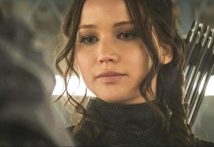 Jennifer Lawrence protagoniza 'Los Juegos del Hambre: Sinsajo- parte 1', que de acuerdo a Variety es el filme de 2014 con más recaudación por sobre 'Guardians of the Galaxy'. (dailymotion.com)