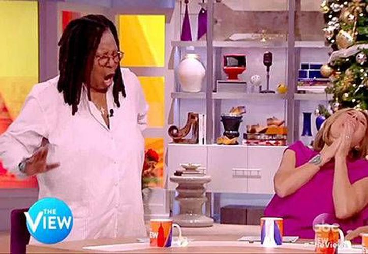 Whoopi Goldberg, lejos de mostrarse apenada, tomó con mucho humor el incidente. (Captura de pantalla/YouTube)