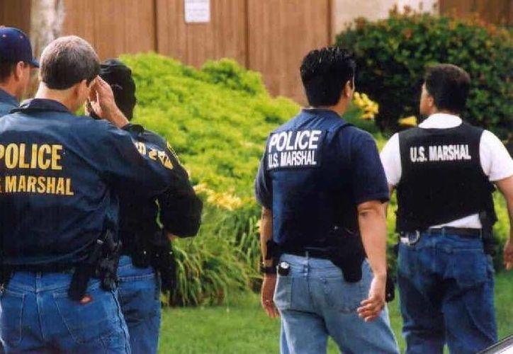 Personal del servicio Marshal brinda ciertas asesorías a agentes mexicanos, pero nada más, según la Semar. (usmarshals.gov/Foto de contexto)