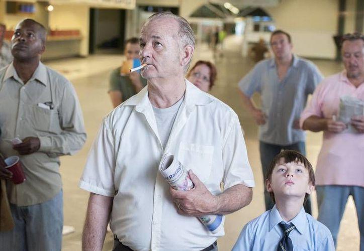 """De acuerdo a varias fuentes Bill Murray apareció en el show The Last Word with Lawrence O'Donnell"""" alcoholizado. En la foto, Murray en una escena de 'St. Vince'. (Fotografía: Notimex)"""