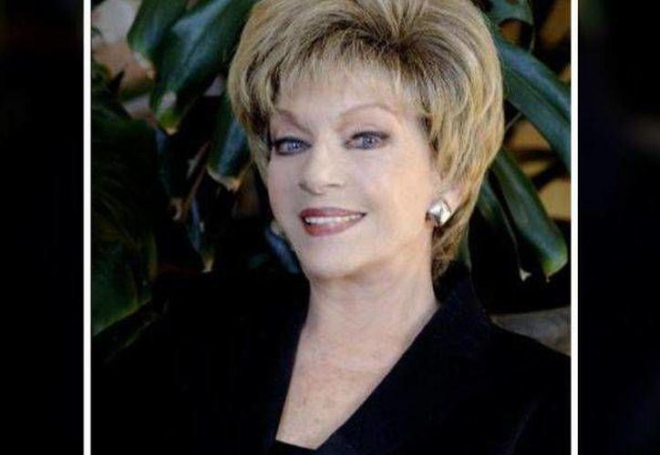 Imagen de archivo de la actriz Martha Roth, quien falleció el viernes 7 de octubre de 2016, en la ciudad de México. (Internet)