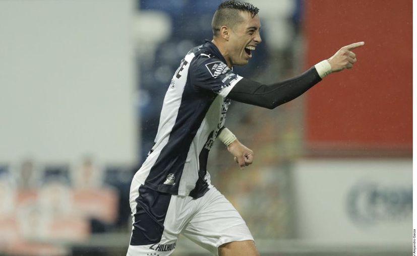 """El """"Mellizo"""" Rogelio Funes Mori se ha convertido en un referente del Monterrey. Es el máximo goleador en activo del club regio. (Foto: Reforma)"""
