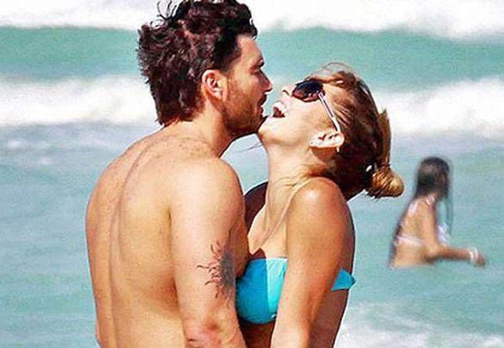 La pareja visitó playas del Caribe mexicano y subieron imágenes en sus cuentas de Instagram. (Contexto/Internet)