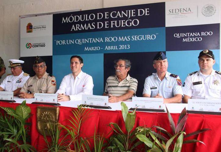 """Las autoridades implementaron el programa """"Por un Quintana Roo más Seguro"""". (Cortesía/SIPSE)"""