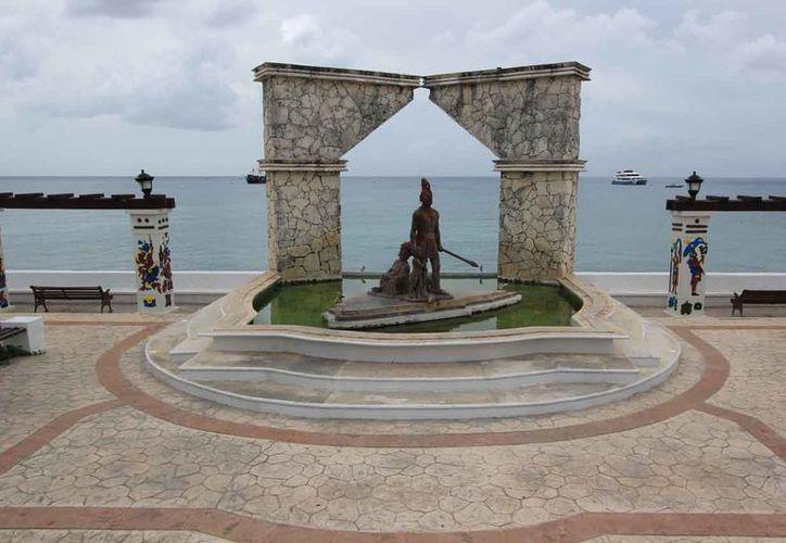 Juan de Grijalva y Cuellar descubrió Cozumel un 3 de mayo de 1518. (Foto: Gustavo Villegas)