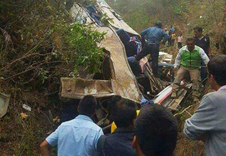 Las autoridades no han confirmado el número de personas heridas y tampoco el total de muertos. (Excelsior)
