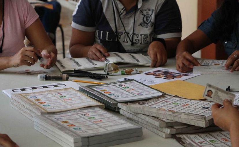 Los delitos que más se cometieron fueron alteración del Registro Federal de Electores. (Paola Chiomante/SIPSE)