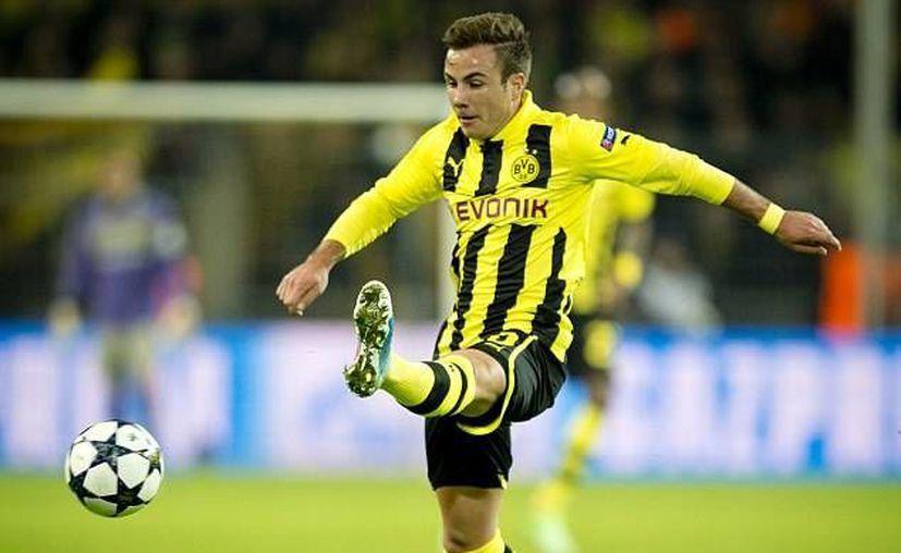 Gotze jugará para el Bayern Munich a partir de la próxima campaña. (dailymail.co.uk/Archivo)