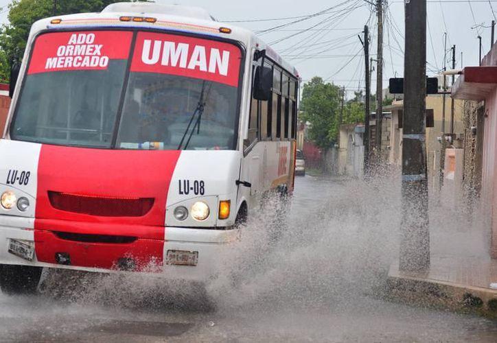 Las precipitaciones seguirán presentándose en Yucatán durante estos días. (SIPSE)