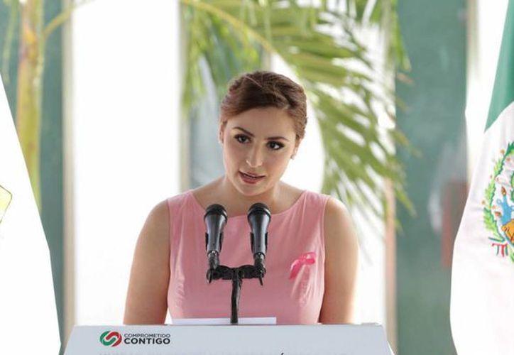 Mariana Zorrilla invitó a la población a participar el 7 y 8 de octubre. (Redacción/SIPSE)