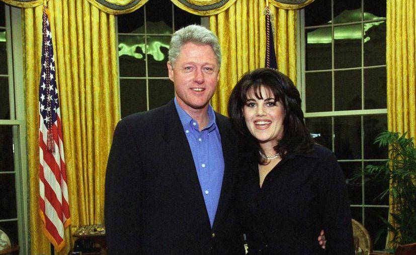 El escándalo que protagonizaron Bill Clinton y Mónica Lewinsky llegará a la pantalla chica. (Internet)