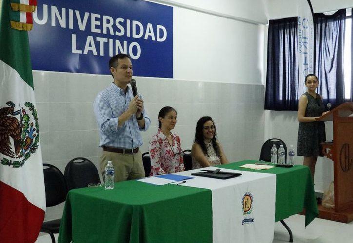 La Coparmex y la Universidad Latino formalizaron su alianza. (José Acosta/Milenio Novedades)