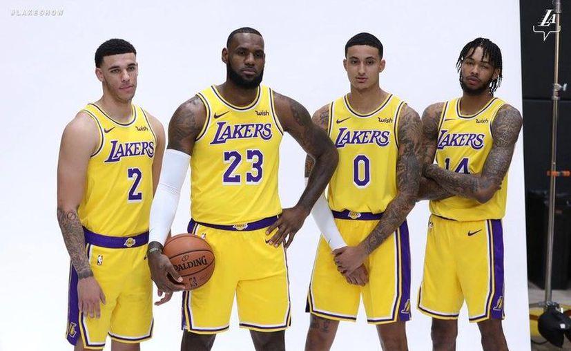 Lakers dejó claro su intención de pelear por un título más en la NBA, tras quedarse en 16 y a uno de los máximos ganadores en la historia de la liga, Celtics de Boston. (Vanguardia MX)