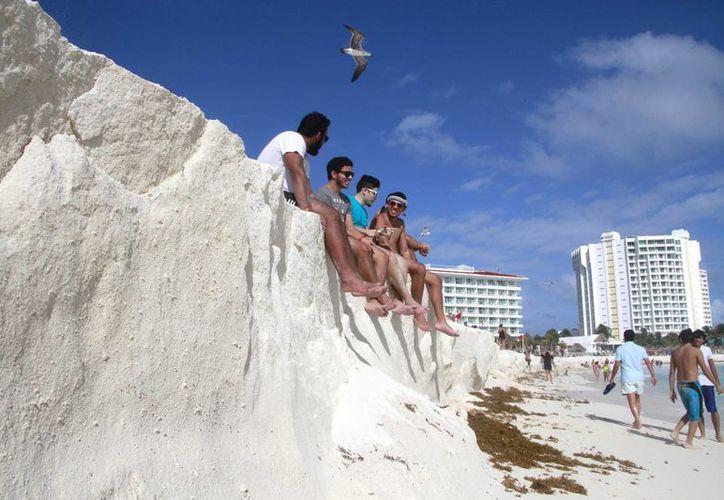 La duna tiene una extensión de unos 20 kilómetros de extensión. (Luis Soto/SIPSE)