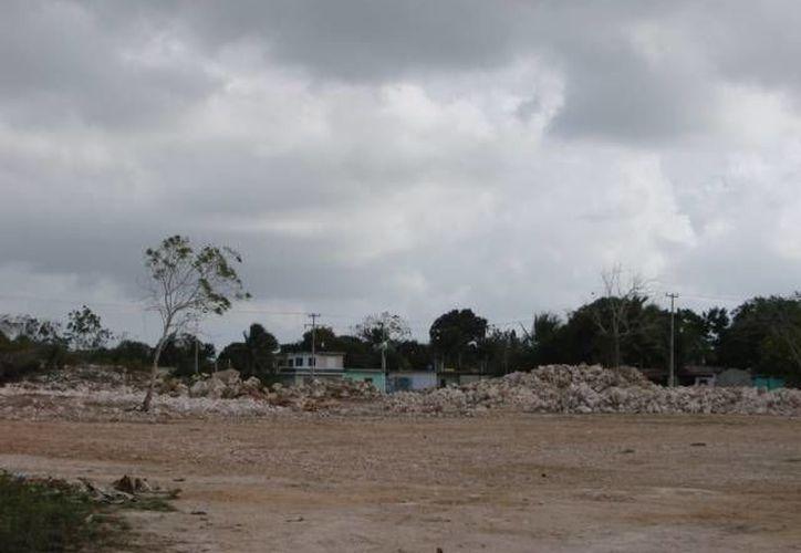 El predio de la Expomaya tiene una superficie de 40 mil 513 metros cuadrados. (Manuel Salazar/SIPSE)