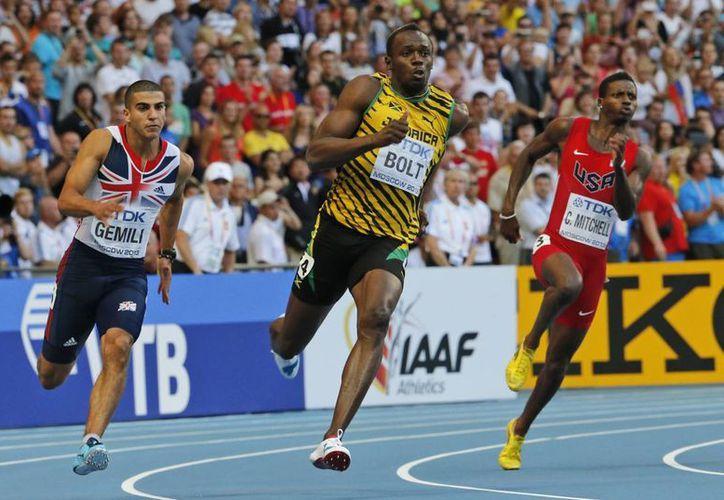 """Bolt ahora es más """"serio"""" en cuanto al despliegue de muecas. (Agencias)"""