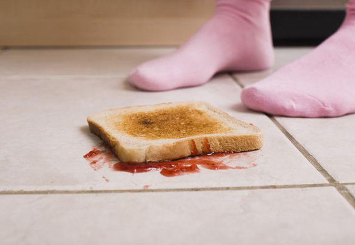 El microbiólogo indicó que el alimento caído es alimento contaminado. (Foto: Contexto/Internet)
