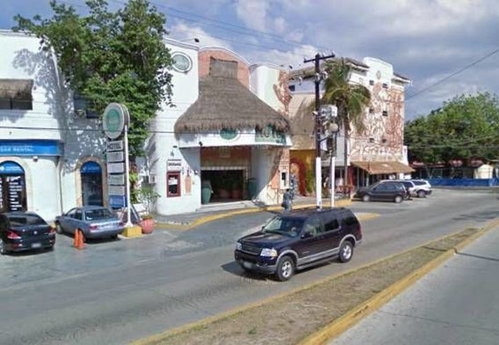 El panal se encontraba en la azotea del Hotel Xbalanqué. (maps.google.com.mx)