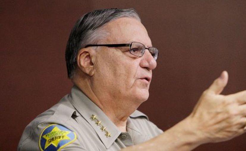 Arpaio ganó en noviembre una de las elecciones más reñidas de su carrera frente al ex sargento policial de Phoenix Paul Penzone. (Agencias)