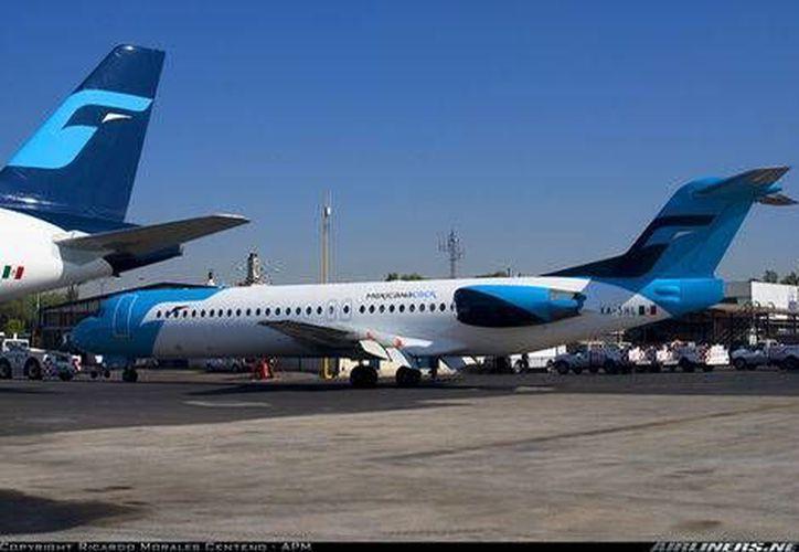 Las autoridades del Aeropuerto Internacional de la Ciudad de México tendrán que asegurar las instalaciones de la base de mantenimiento de Mexicana. (Milenio/Foto de archivo)