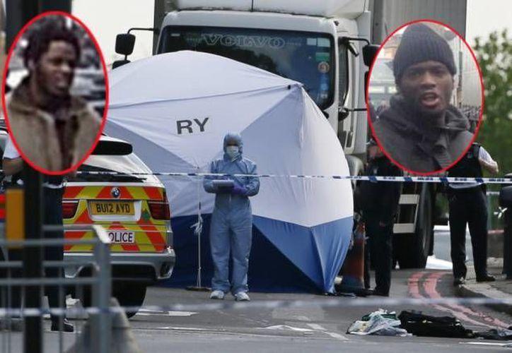 Michael Adebolajo y Michael Adebowale, presuntos asesinos de un militar inglés. (piemetro.co.uk)