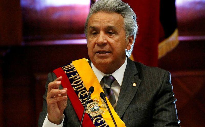 Presidente Lenín Moreno pide la dimisión de gabinete ministerial en Ecuador