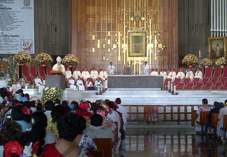 La tradicional Misa del Yucateco se efectuará el 12 de julio a las 10:00 de la mañana. (Archivo/ Milenio Novedades)