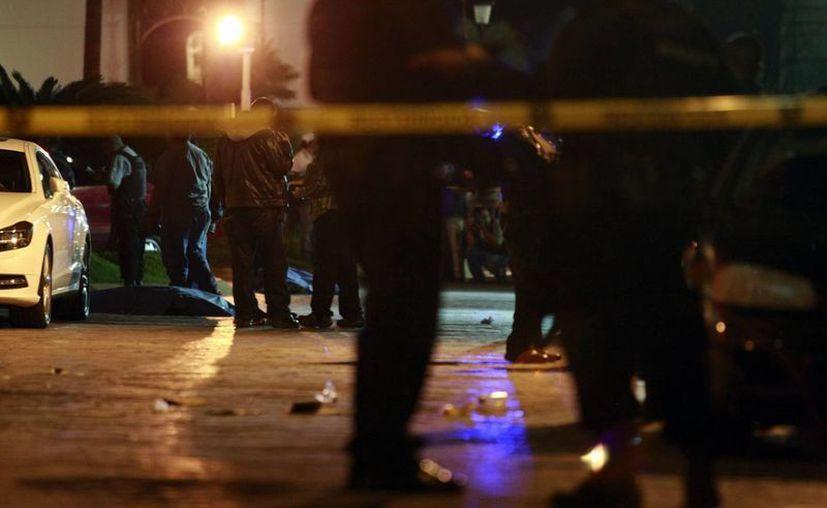 Desde que ocurrió el triple homicidio, las autoridades tuvieron conocimiento de que se trataba de una disputa por venta de droga. (Archivo SIPSE)