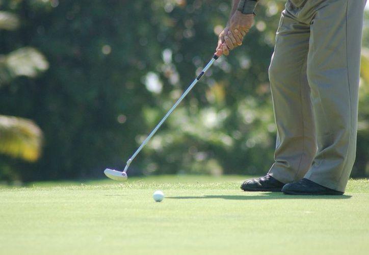 Los mejores golfistas de Quintana Roo tomarán parte en este evento. (Redacción/SIPSE)