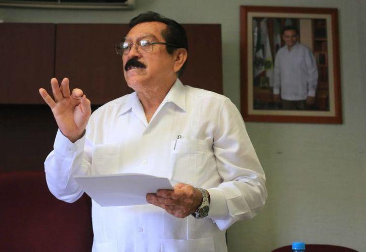 Luis Echeverría, de la Comisión de Vigilancia de la Cuenta Pública. (Milenio Novedades)