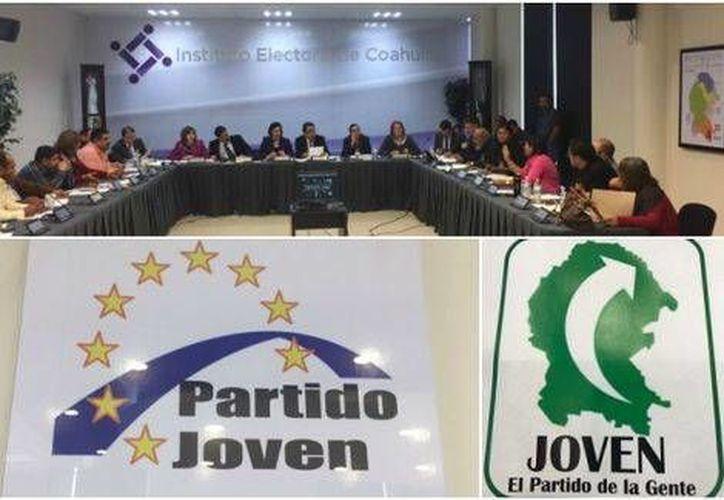 El IEC rechazó por mayoría el cambio del logotipo y lema del Partido Joven y en respuesta quieren poner el rostro de Moreira en nuevo logo. (Ana Ponce/Milenio Digital)