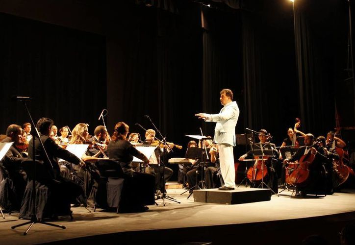 Uno de los espectáculos que se presentará es de la Gala de Ópera de la Camerata de Cancún el 9 de octubre. (Redacción/SIPSE)