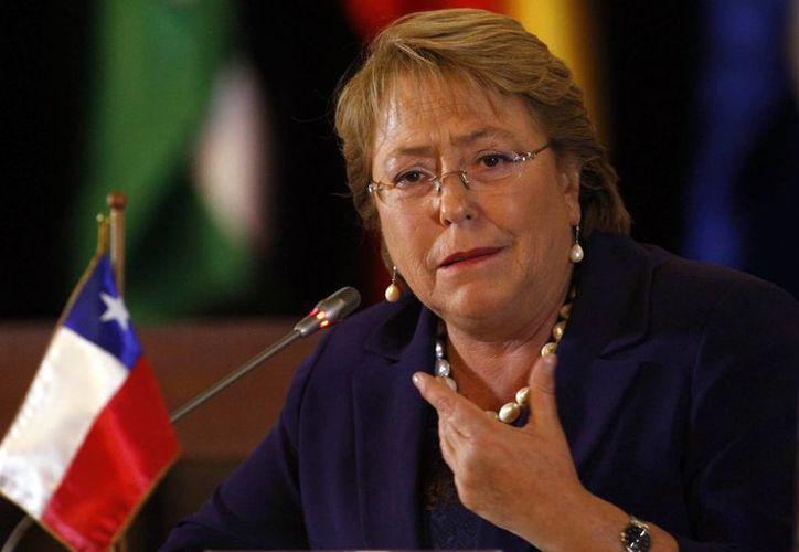 La presidenta de Chile, Michelle Bachelet  asumió el poder el 11 de marzo pasado un segundo mandato presidencial. (EFE/Archivo)