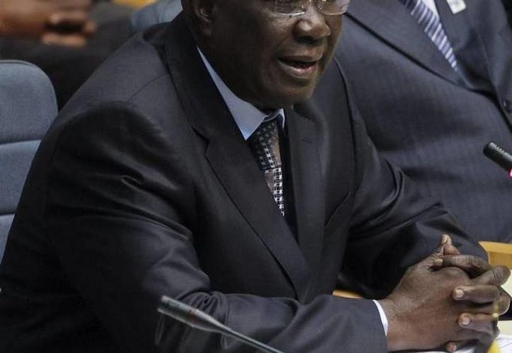 El presidente interino Michel Djotodia renunció, por lo que la situación en la República Centroafricana se ha agravado. (EFE)