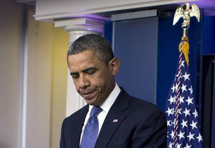 Obama manifestó que espera que las noticias sobre el tiroteo no se disipen. (Agencias)