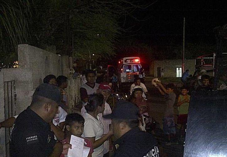 La SSP y la FGE realizaron ayer un intenso operativo por el supuesto plagio de la menor Alejandra del Carmen Tec Chuc. (SIPSE)