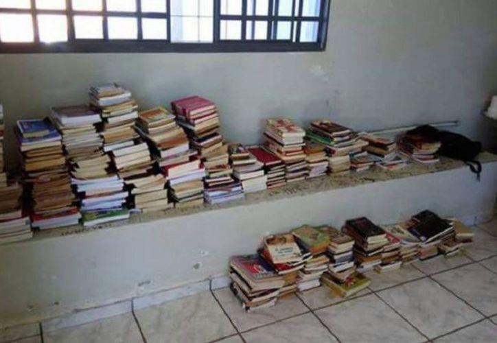 Todos los libros que el muchacho había robado fueron regresados a los sitios de donde fueron sustraídos. (Foto: El Debate)