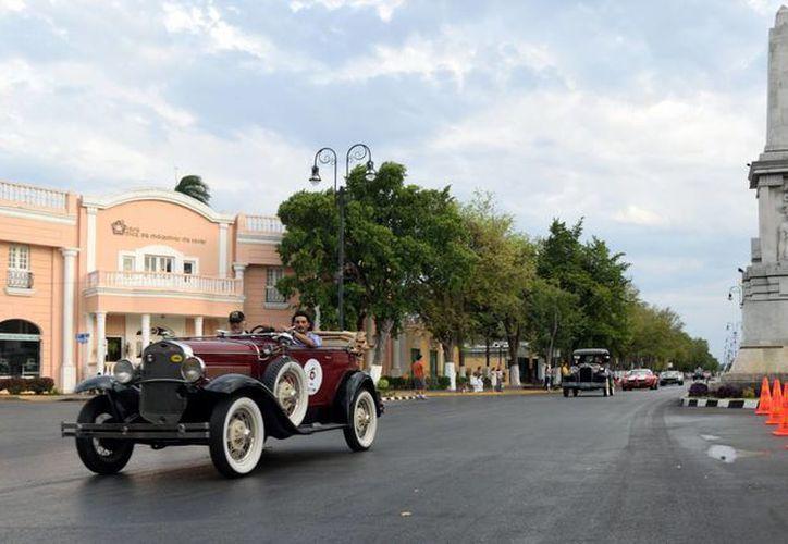 El Paseo de Montejo fue declarado como candidato a integrar los '7 tesoros del Patrimonio Cultural de Mérida'. (Foto cortesía del Gobierno de Yucatán)