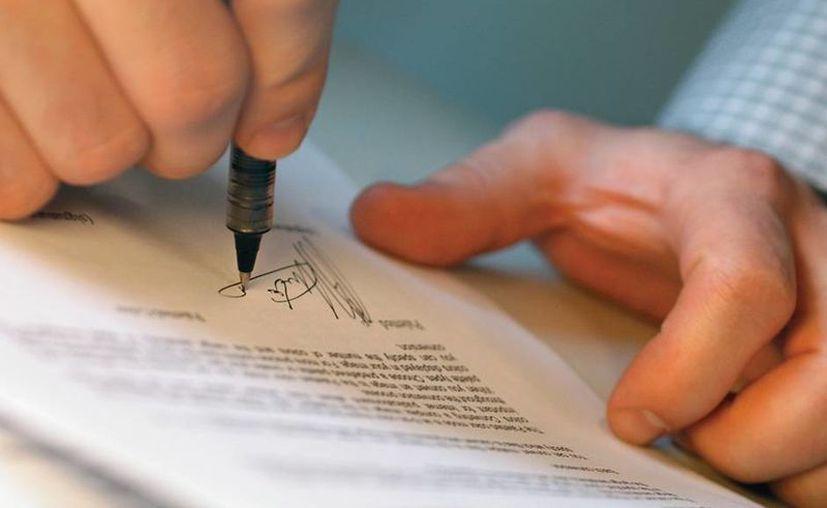 El trámite es sencillo y rápido, sólo es cuestión de que los interesados acudan con un notario de confianza. (Foto de Contexto/SIPSE)
