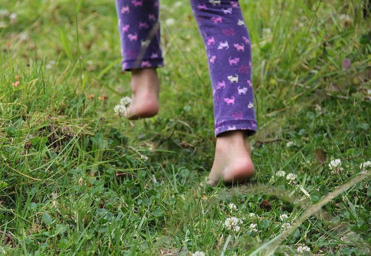 La menor caminó descalza por una pocilga con barro, por lo que se cree que allí fue infectada. (Pixabay)