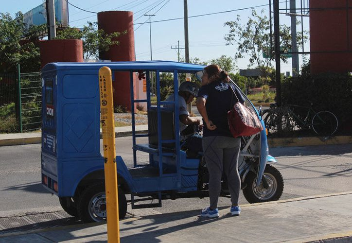 Las 100 unidades que operan en la comunidad ya son demasiadas, considera delegado. (Octavio Martínez/SIPSE)