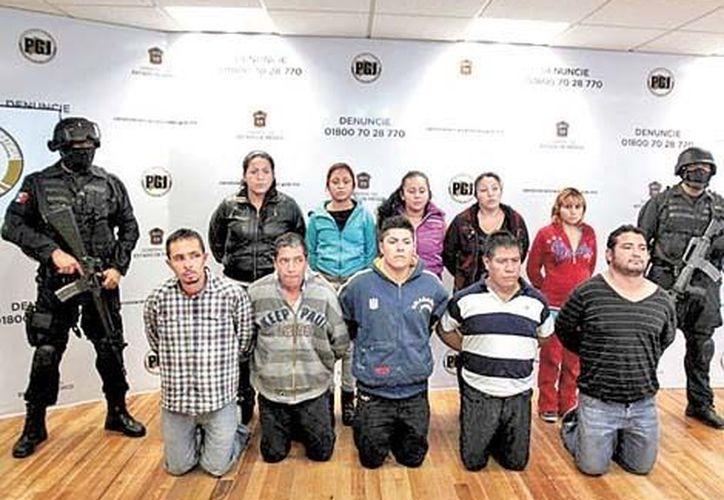 En dos días se han capturado a 16 miembros de la organización criminal en el Estado de México. (Milenio)