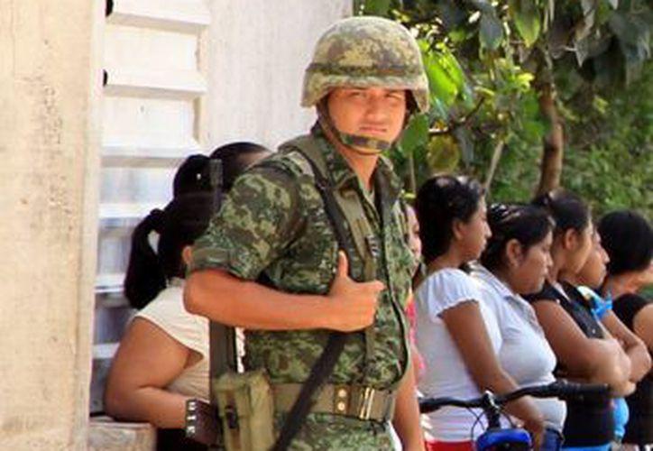 El Ejército es una buena opción para hacer carrera en las fuerzas armadas.  (SIPSE)