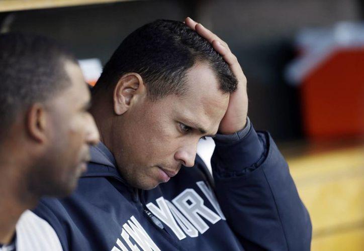 A-Rod fue suspendido por 211 partidos tras se hallado culpable de usar sustancias prohibidas. (Foto: Archivo/AP)