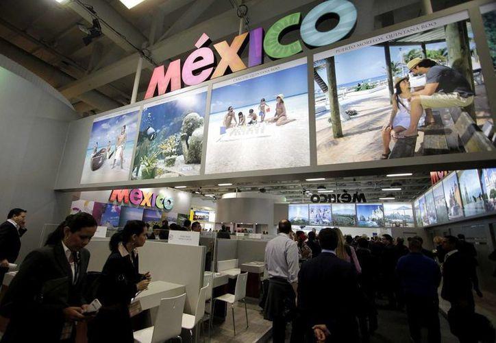 El pabellón de México en el ITB fue uno de los más visitados. (Notimex)