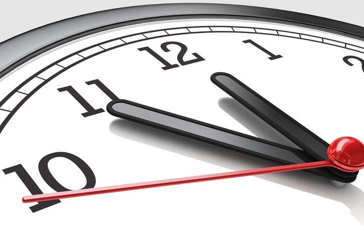 El Horario de Verano comienza el 1 de abril y termina el 28 de octubre. (Internet)