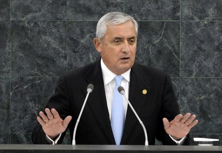 Pérez Molina hizo un llamado para que las iniciativas que ha emprendido su Gobierno sean continuadas por los mandatarios que le precedan. (Archivo/EFE)