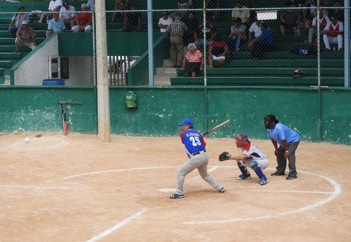 Los partidos tuvieron lugar en el campo Venancio Pec. (Raúl Caballero/SIPSE)